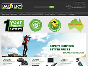 Battery Expert Magento Shopping